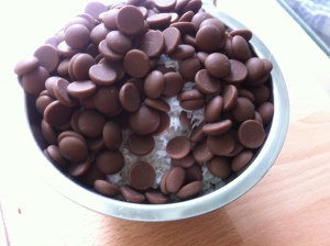 cocos chokladknappar
